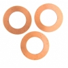 Metal Blank 24ga Copper Washer-round 32mm With Hole